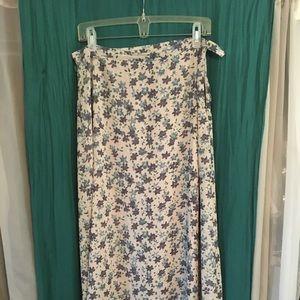 Vintage 90's Limited Floral Skirt